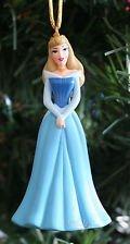 Authentische Disney Dornröschen Aurora im blauen Kleid Pvc Figur Weihnachtsbaum Urlaub ()