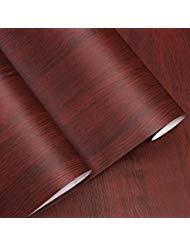 Handwerk-regal-schrank (Dekorative Faux Holzmaserung Kontakt Papier Vinyl selbstklebend Regal Schublade Liner für Badezimmer Küche Schränke Regale Kunst und Handwerk Aufkleber 61x 297,2cm)