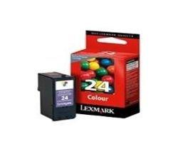 Preisvergleich Produktbild Lexmark 18C1524B Original Tintenpatrone 24, cyan/magenta/gelb