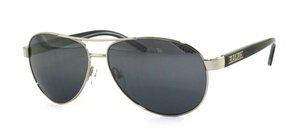 Ralph Lauren Frau RA 4004 silber - Blue gradient Polycarbonatglas Sonnenbrille lenses 59 mm