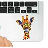 Giraffe Colorful Aufkleber Laptop MacBook Trackpad Tastatur Aufkleber Aufkleber & Aufkleber vor-Aufkleber Laptop MacBook Trackpad Tastatur Aufkleber (Giraffe Macbook Decal)