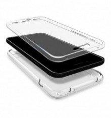 Mb Accesorios Funda Carcasa Gel Transparente Doble 360º para Xiaomi Redmi 5 Plus, Ultra Fina 0,33mm, Silicona TPU de Alta Resistencia y Flexibilidad
