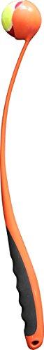 Pawise 14655 Ballschleuder Hundespielzeug - Ball Launcher inklusive Blinkball u. Tennisball