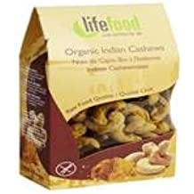 Lifefood Org Indian Cashews 80 g (order 8 for trade outer)