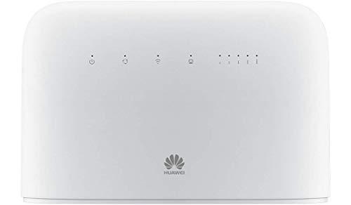 Huawei B715s-23c Blanc Routeur 4G++ 3CA LTE LTE-A Catégorie 9 Gigabit WiFi AC 2 x SMA pour antenne Externe