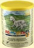 Bambinchen 1 - Babynahrung bis 6 Monate 400 g - 12 Stück