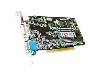 ATI Radeon R7000 64MB DDR PCI DVI/VGA Video Card w/TV-Out(s video to video,tv out,dvi port,vga port,with dvi to hdmi converter,hdmi port graphic card)