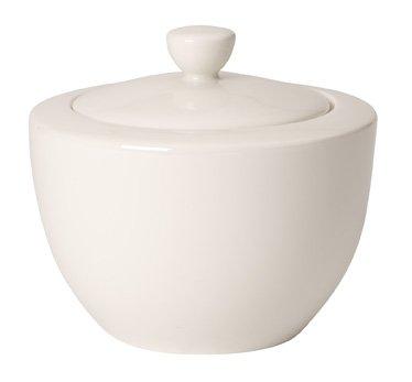 Villeroy & Boch For Me - Azucarero, porcelana premium, color blanco