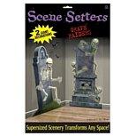 Graveyard Raiders Scene Setters by Partyrama (Graveyard Setter Scene Halloween)