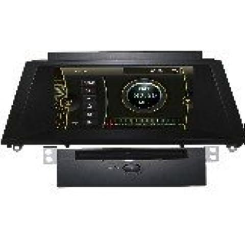 Generic 8.0inch coche Stereos para BMW 5er E60E61E63E6420032004200520062007200820092010/M520032004200520062007200820092010CD de coche reproductor de DVD de navegación GPS RDS ipod Bluetooth Phondbook AUX ATV volante Control Canbus estéreos Audio Video Radio Multimedia