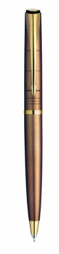 Parker Latitude: Portaminas Shimmery Copper, Adornos cromados, Mecanismo de giro, Utiliza minas de diámetro 0,5 mm.