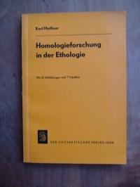 Homologieforschung in der Ethologie.