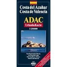 ADAC Karte, Costa del Azahar, Valencia