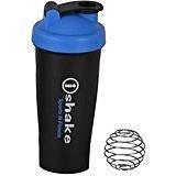 Ishake 008 Cyan Cap Black Body Shaker Bottle  available at amazon for Rs.255
