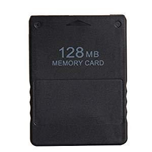 WiCareYo Black 128MB Speicherkarte für PS2
