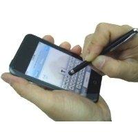 Premium Eingabestift neue Ausführung für Apple iPhone / LG Viewty KU990 in schwarz