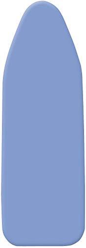 WENKO 1296993100 Bügeltischbezug Universal Stretch, Bügelbrettbezug, Universalgröße für S bis XXL, 4 mm Komfortpolsterung, Baumwolle, 30-48 x 110-130 cm, blau