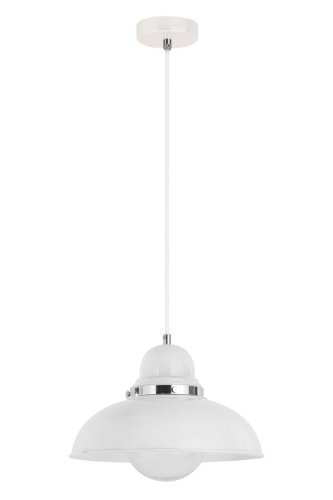 premier-housewares-2501672-lumiere-pendante-blanc-chrome-120-x-30-x-30-cm