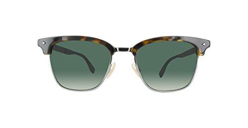 Fendi Herren FF M0003/S IR KB7 52 Sonnenbrille, Grau Grey