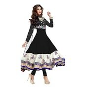Dipak Fashion New Fancy Traditional Women Semi-stiched Dress Material  available at amazon for Rs.199