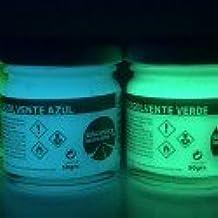 Botes pintura luminiscente disolvente - Capacidad - 50 grs, Color - Verde