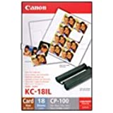 Canon - KC 18IF - Étiquettes - 18 unités - pour SELPHY CP330, CP520, CP530, CP720, CP730, CP740, CP750, CP760, CP770, CP780, CP790, CP800