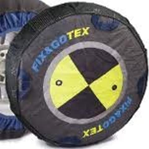 Fix e Go paio di calzini (alternativa alle catene neve) per dimensioni pneumatici–225/45/17Kit F