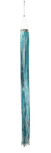West Coast Design Studios In The Breeze Windsack aus silbernem holografischem, Dekoration zum Aufhängen-dekorative und tiergerechte Vogelscheuche und Schädlingsabschreckung - Butterfly Birdbath