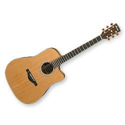 IBANEZ AW3050CE LG GUITARRA ELECTROACUSTICA  COLOR MADERA NATURAL