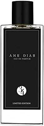 Amr Diab Eau De Parfum 34 Limited Edition, 85ml (Exclusively on Amazon)