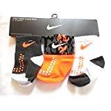 Nike Newborn Baby Socks, 3 PAIRS, Size 6 - 12 Months -