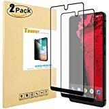 [2Pack] Tourist für Essential Phone ph-1gehärtetem Glas Displayschutzfolie [Full Deckung] mit 2.5D Arc Kanten 9Härte HD Kratzfest [Lebenslange Umtausch-Garantie], 2Pack -