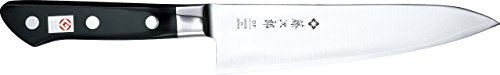 Tojiro Messer - japanische 3 Lagen Messer 3HQ - Gyuto Kochmesser PROFI - Klinge 18 cm - Edelstahlzwinge - 807