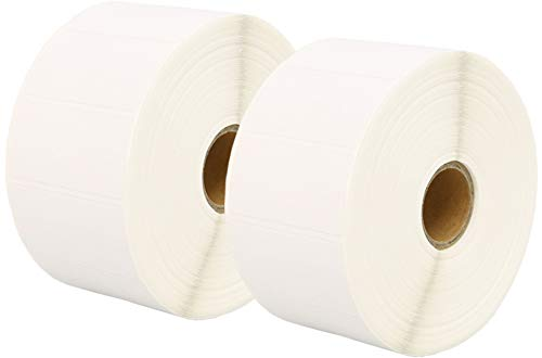 Printing Saver 50 x 25 mm 2 Rollos Etiquetas Adhesivas