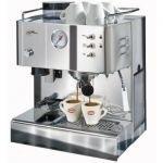 QuickMill - Steel Model 03035 S Brass Espressomaschine,Neue Ausführung aus gebürstetem Edelstahl