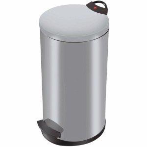 Preisvergleich Produktbild Hailo Tret-Abfallsammler T2.20 20l silber