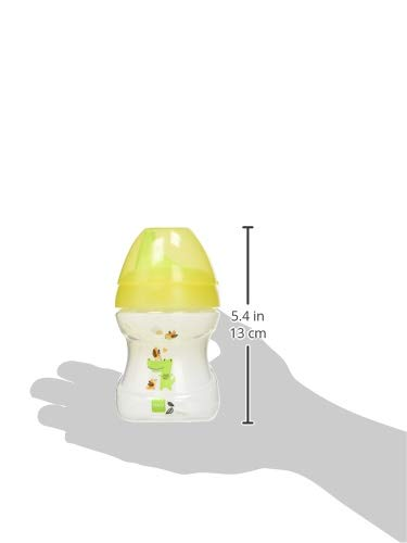 MAM 62835120 - Learn To Drink Cup Fashion190 ml, Trinklernbecher, gelb/neutral - 2
