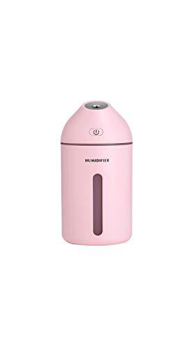 ftbefeuchter Doppelnutzung des Mute-Mini-Luftbefeuchters Für Heim- Und Autodesktop (Color : Pink) ()