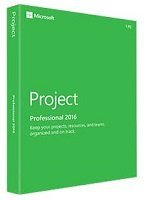 Microsoft Project 2016 Professional (Medialess) - anglais
