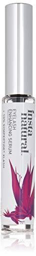 InstaNatural Sérum Stimulateur Cils et Sourcils - Soin Action Rapide Pour des Cils Longs, Épais et Fournis et des Sourcils Plus Denses - Formule Liquide XLash avec Peptides et Vitamines Bio - 10 ml