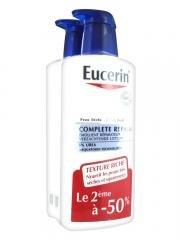 Eucerin Complete Repair Emollient Lotion 5% Urea 2 x 400ml