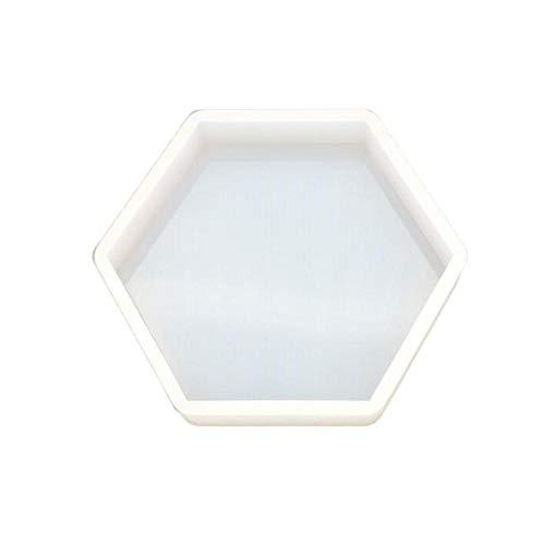 DIY Kristall Epoxy Achteckige Tabelle Set Form Silikonform Nordic Geometrie Stil Form Hohe Spiegel Gips Aromatherapie Auto Dekoration Duft Expansion Steinform