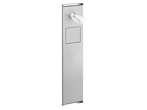Keuco Modul WC 2 Plan Integral 44976, verchromt/Aluminium, links angeschlagen, 44976011701