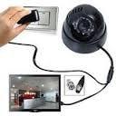 #8: Shopping Redefined (TM) CCTV Dome 24 IR Night Vision Camera DVR with Memory Card Slot Recording (BNC)