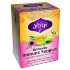Yogi Tea Co Organic Echinacea Immune Support Herbal Tea - 16 bags per pack -- 6 packs per case.