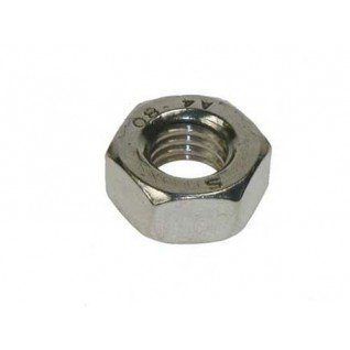 Metric Hexagonal (Hex) Full Nuts A2 Stainless Steel M14 14mm (Pack of 8 nuts)