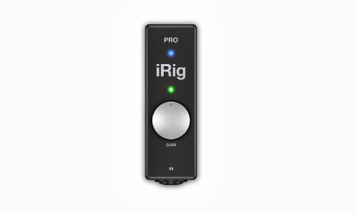 IK Multimedia 90036 iRig Pro universelles Midi- / Audiointerface für iPad / iPhone / Mac