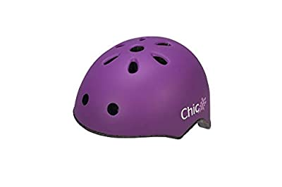 Raleigh Girls' Chic Children's Cycle Helmet, Purple, 50-54 cm from Raleigh