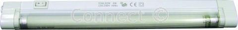 White Eterna T5 Fluorescent Light Fitting (Lighting, Accessory) Type: T5 link & light fitting