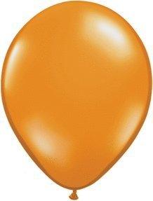 Mayflower 6576 9 Inch Mandarin Orange Latex Balloon by Qualatex